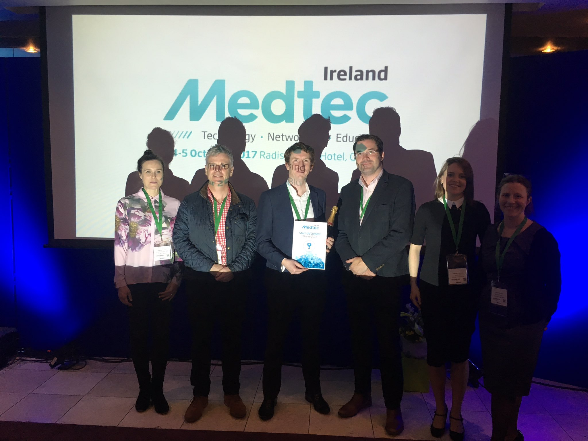 Loci Orthopaedics win Medtec Ireland Start-Up Competition.