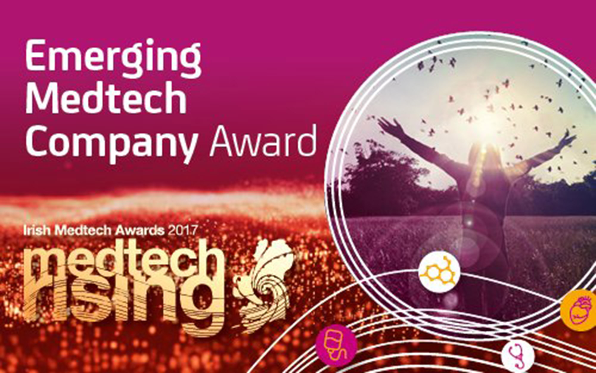 Loci Orthopaedics among the finalists for the Emerging Medtech Company of the Year award.